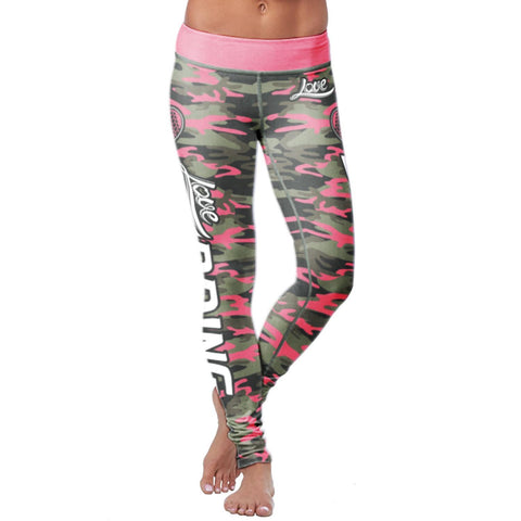 Image of Pink Camo Mudding Leggings Leggings