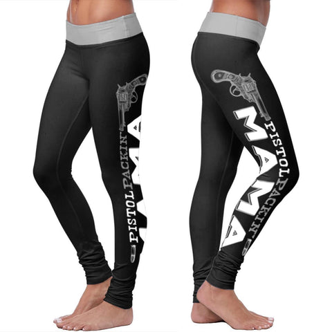 Pistol Packin Mama Leggings Leggings Pistol Packin Mama Leggings S