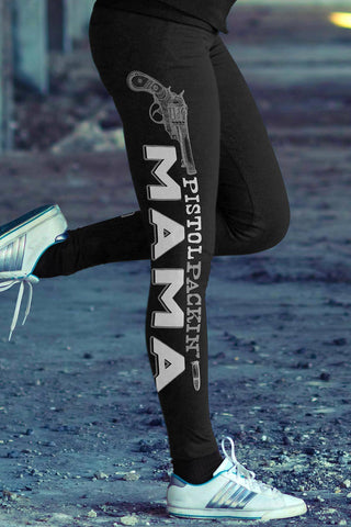 Pistol Packin Mama Leggings Leggings