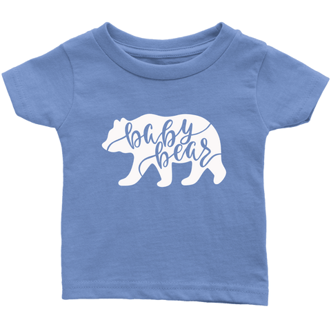 Baby Bear Shirts and Onesies T-shirt Infant T-Shirt Baby Blue 6M