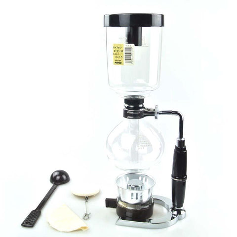 Image of Japanese Style Siphon Pot 2, 3, or 5 Cup Coffee Pots