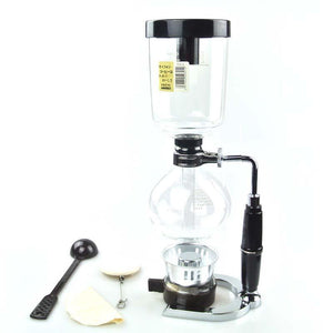 Japanese Style Siphon Pot 2, 3, or 5 Cup Coffee Pots