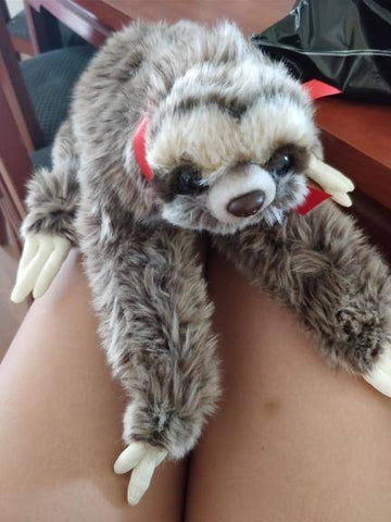 Image of Super Cute 3 Toed Sloth Plush Toy Stuffed & Plush Animals