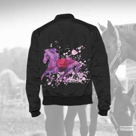 Gorgeous Wild Running Horse Jacket Men's Jacket