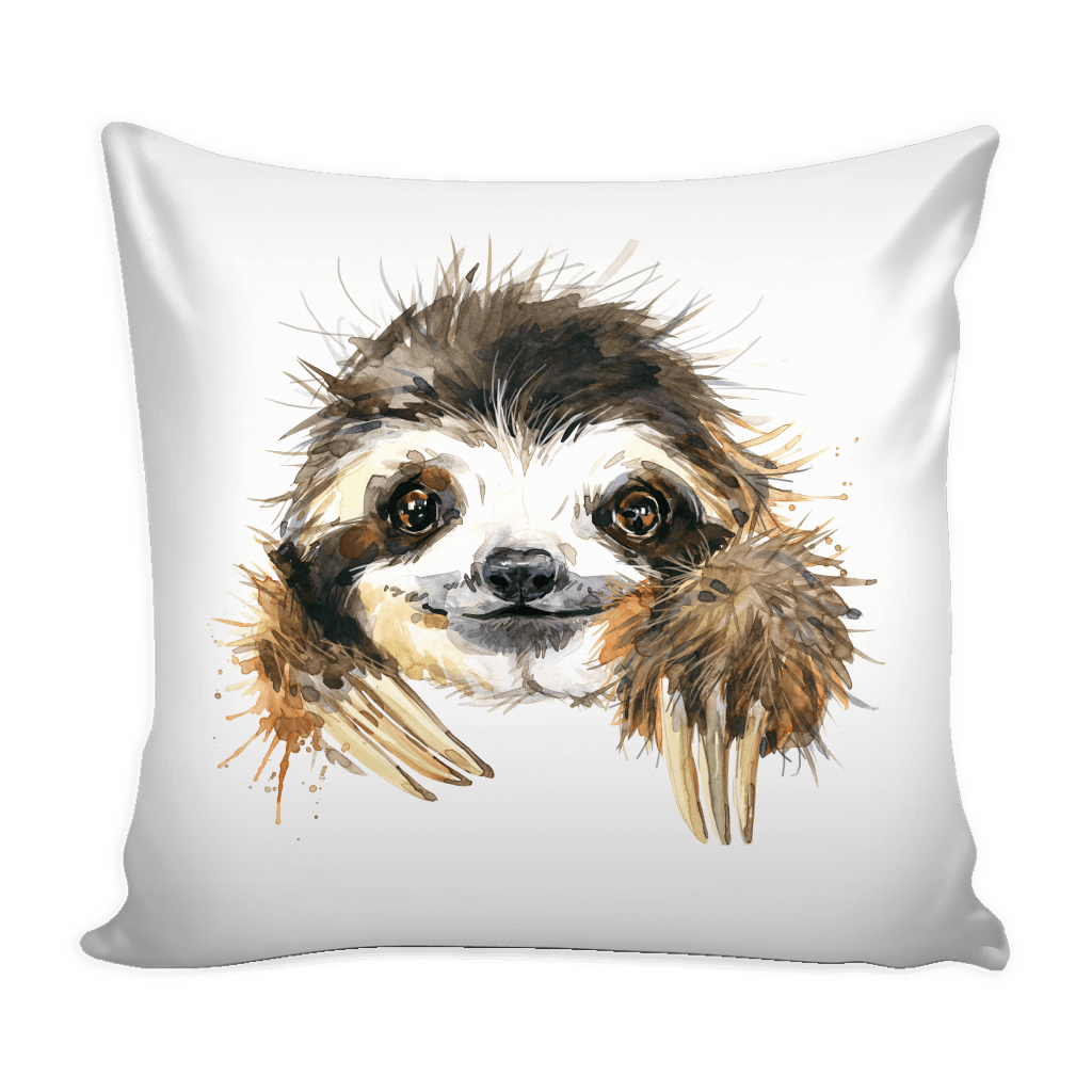 Cute Sloth Pillow with insert