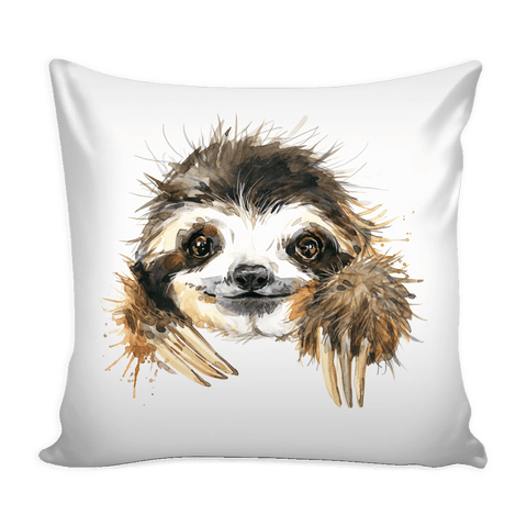Cute Sloth Pillow with insert Pillows Cute Sloth Pillow With Insert