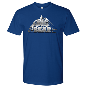 Big Bear V.2, Mens T-shirt Next Level Mens Shirt Royal Blue S