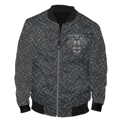 Image of Aggressive Inner Wolf Bomber Jacket