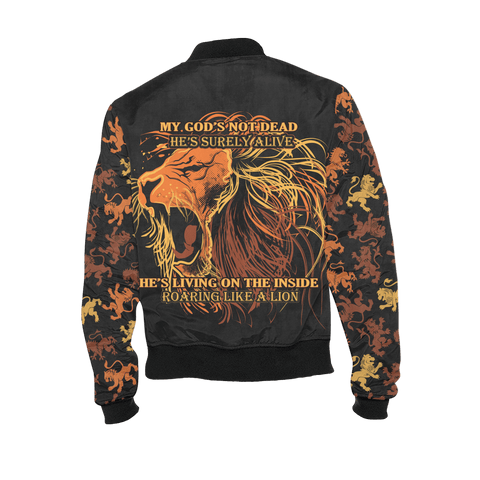 Image of Limited Edition - God's Not Dead - Bomber Jacket Jackets Limited Edition - God's Not Dead - Bomber Jacket XS