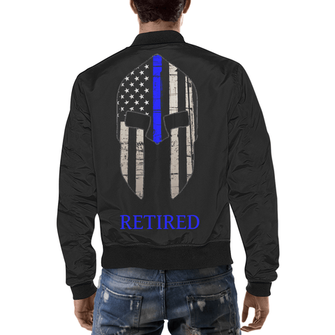 Image of Spartan Officer Jacket, Retired California