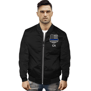 Spartan Officer Jacket, Retired California Men's Jacket Men's Jacket XS