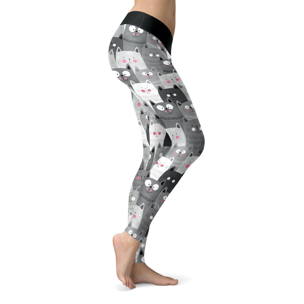 Cute Cats Leggings Leggings