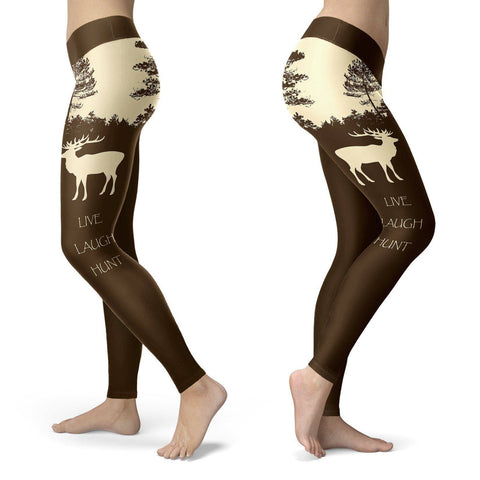 Image of Live Laugh Hunt Leggings