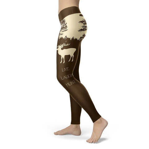 Image of Live Laugh Hunt Leggings Leggings