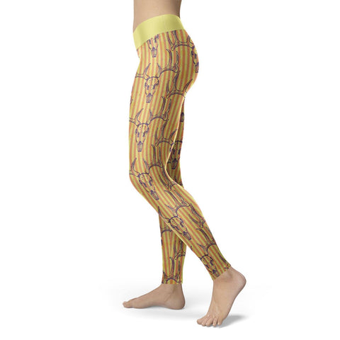 Deer Skull Leggings Leggings