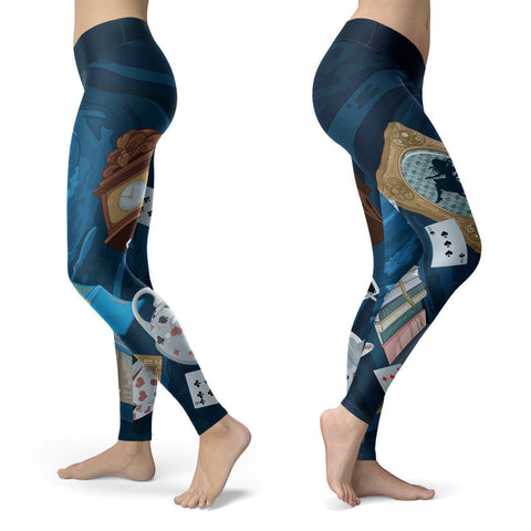 Image of Down The Rabbit Hole Leggings Leggings Down The Rabbit Hole Leggings S