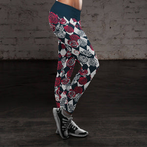 Roses, Clocks and Keys - Wonder Collection Leggings