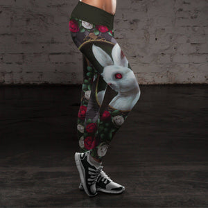 Oh Dear! Classic Alice Adventure Rabbit Leggings
