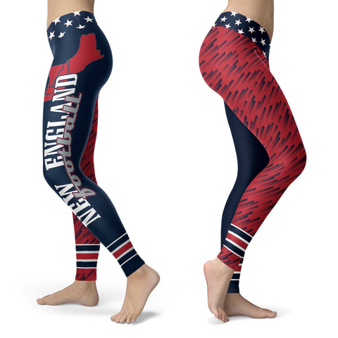 Image of Stars and Stripes NE Football Leggings Stars and Stripes NE Football S