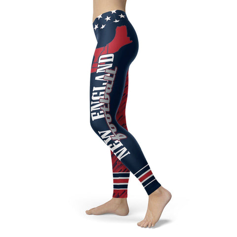 Image of Stars and Stripes NE Football Leggings