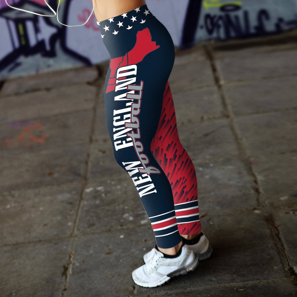 Stars and Stripes NE Football Leggings