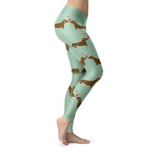 Dachshund Love Leggings Leggings