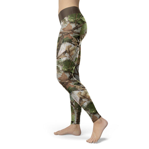 Image of Realistic Camo Leggings Leggings
