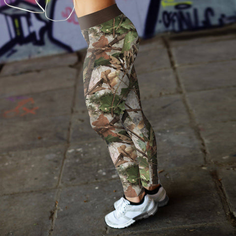 Realistic Camo Leggings Leggings