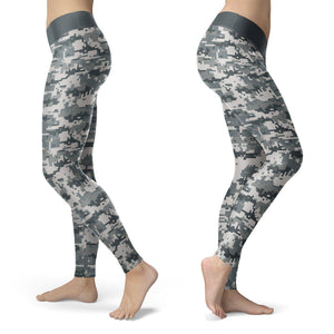 Digital Camo Leggings Leggings Digital Camo Leggings S