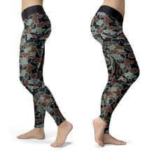 Abstract Camo Leggings