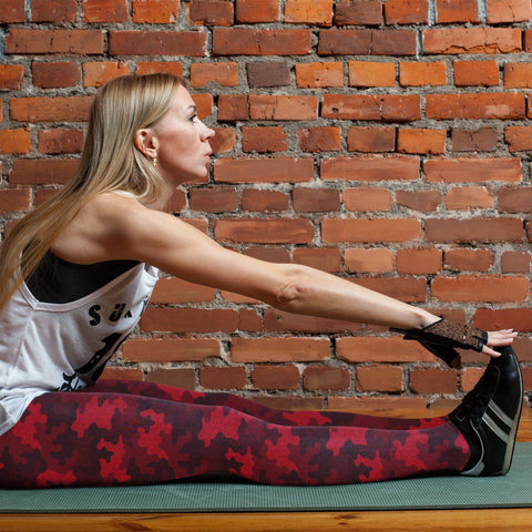 Red Camo Leggings Leggings