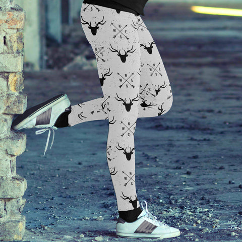 Image of Arrows and Deer Leggings