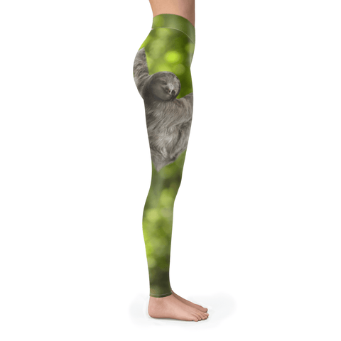 Image of Sloth, just hangin' Leggings Leggings S NA