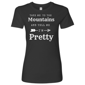 To The Mountains Womens Shirts T-shirt Next Level Womens Shirt Heavy Metal S