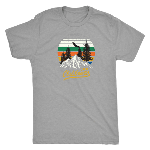 Image of Great Outdoors Shirts | Mens T-shirt Next Level Mens Triblend Premium Heather S