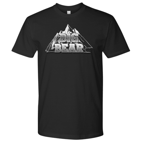 Image of Big Bear V.2, Mens T-shirt Next Level Mens Shirt Black S