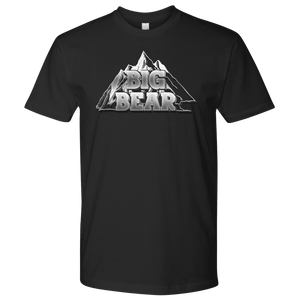 Big Bear V.2, Mens T-shirt Next Level Mens Shirt Black S