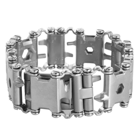 Image of Multifunction Stainless Steel Bracelet Outdoor Tools