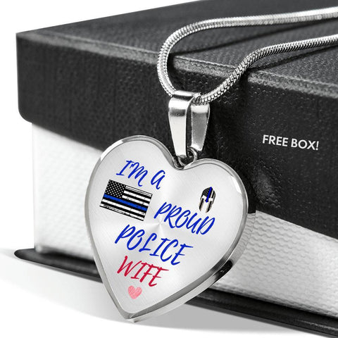 Proud Police Wife Jewelry