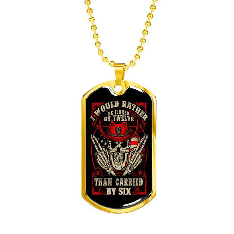 Judged By Twelve, V2 Dog Tag Jewelry
