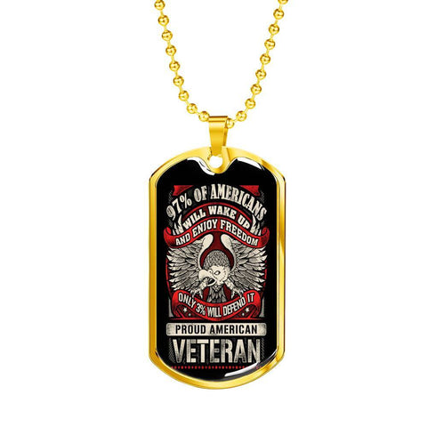 Defender of Freedom Dog Tag Jewelry