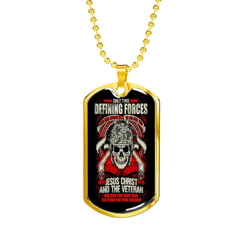 Defining Forces Dog Tag Jewelry