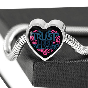 Trust in the Lord Black Jewelry