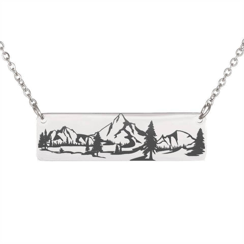 Image of Mountains Necklace | Crazy Offer Jewelry
