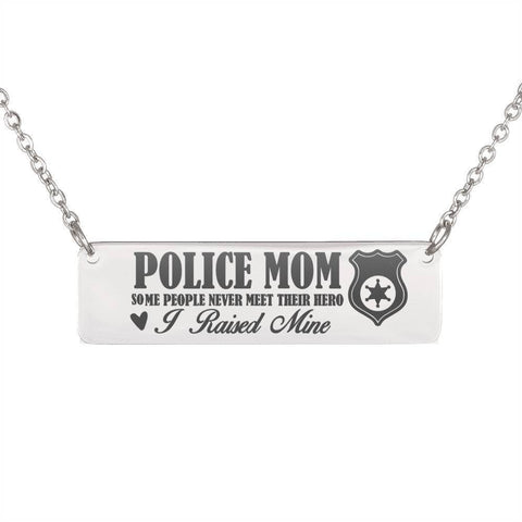 Epic Police Mom Necklace Jewelry