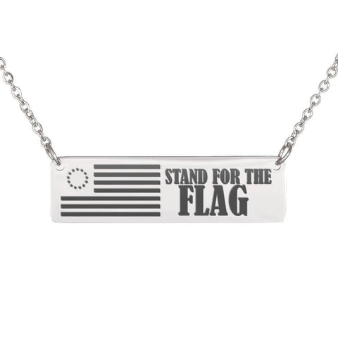 Image of Stand For The Flag | Some Fought For The Right Jewelry