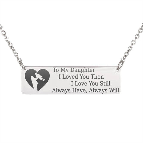 To My Daughter, Dad | Keep Near Her Heart Jewelry