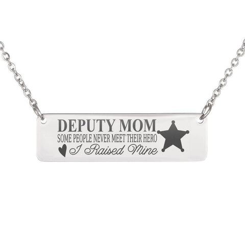 Image of Deputy Mom | You Raised Your Hero Jewelry