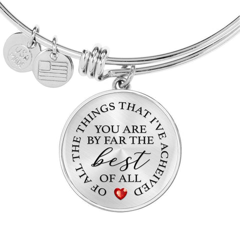 You Are Best Of All | Circle Bangle Jewelry