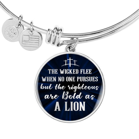 Be Bold As A Lion | Circle Bangle Jewelry